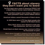 9 FACTS ABOUT SLAVERY Democrats Don't Want You To Know